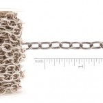 Large Textured Cable Chain