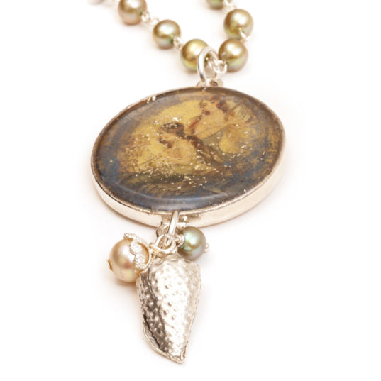 Stephanie Gard Buss | Mixed Media Necklace