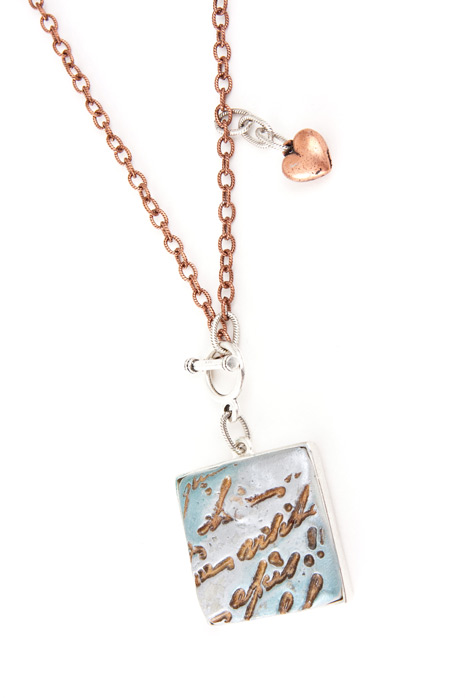 Taos Polymer Clay Necklace