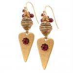 Epoxy clay nunn design earrings