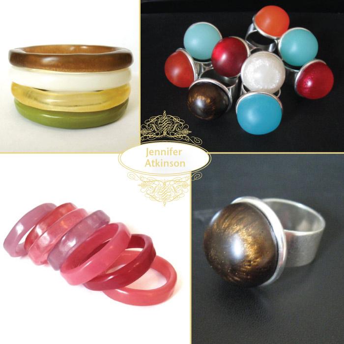 Jennifer Atkinson Resin Jewelry