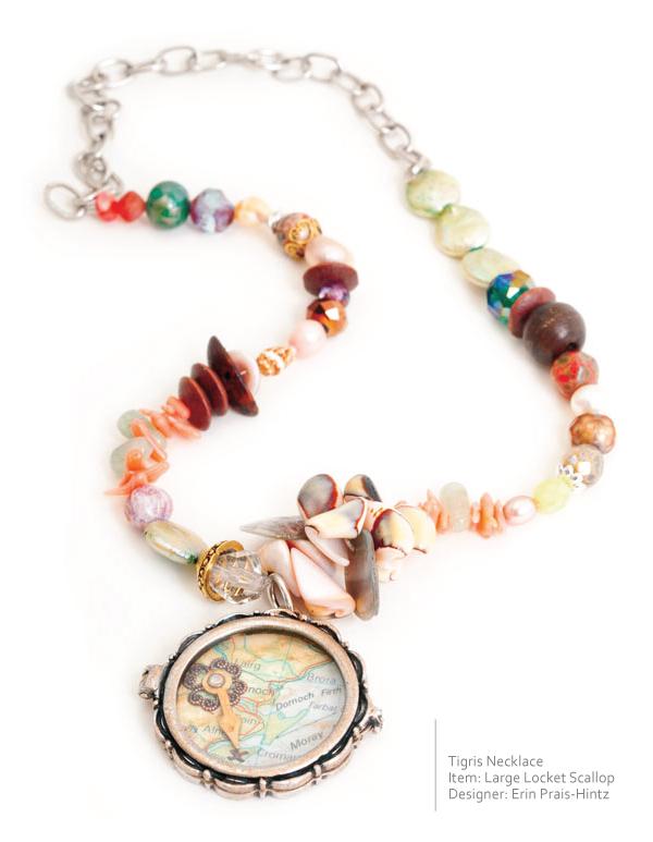 Erin Praise-Hintz Necklace with Nunn Design Locket