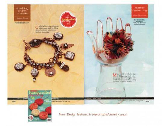 Nunn Design in Handcrafted Magazine 2012