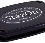 Stazon Ink Pad Jet Black 1
