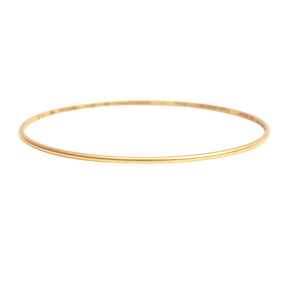 Bracelets The Deco Haus Tagged Gold: Bangle Bracelet Dome Small Antique Gold