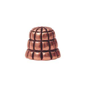 Beadcap 9mm Sea Hive Antique Copper