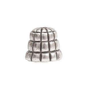 Beadcap 9mm Sea Hive Antique Silver