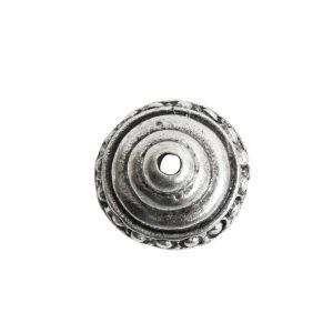 Beadcap 9mm Sea Spire Antique Silver