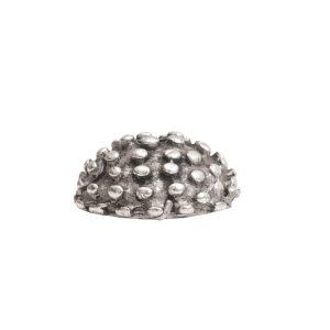 Beadcap 9mm Urchin Antique Silver