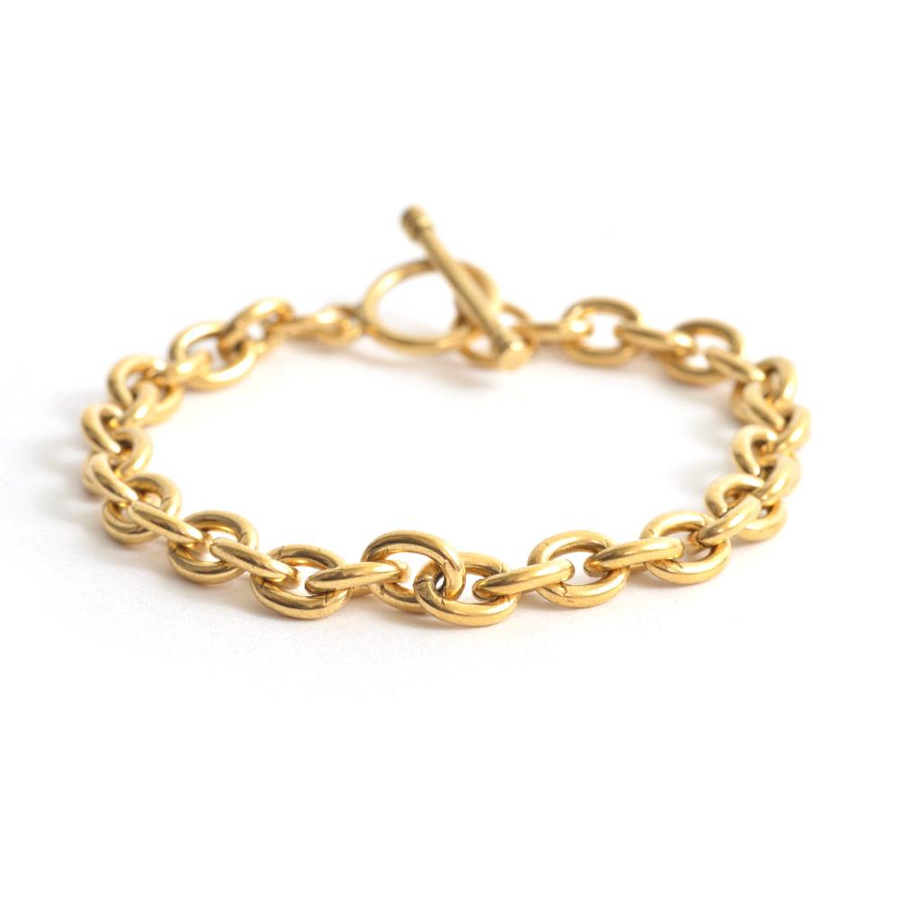Charm Bracelet Antique Gold Nunn Design