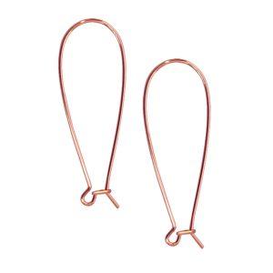 Kidney Earwire Antique Copper