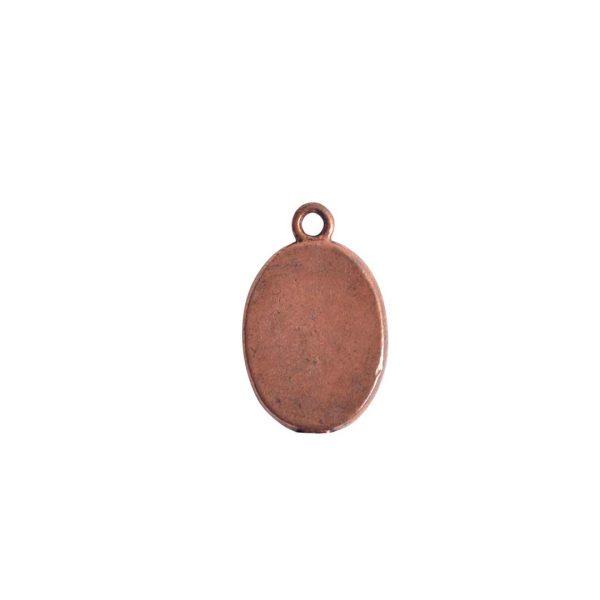 Mini Link Single Loop Oval Antique Copper