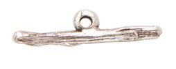 Twig Toggle Bar Antique Silver 1