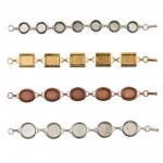 Bezel Bracelets
