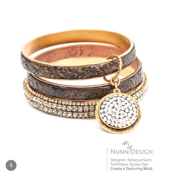 Innovative Jewelry with Epoxy Clay Nunn Design