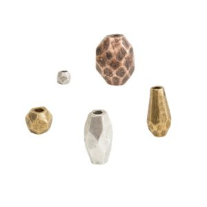 Metal Beads for Leather