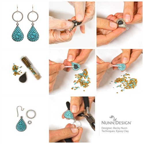 New Epoxy Earring Tutorial Giveaway Nunn Design