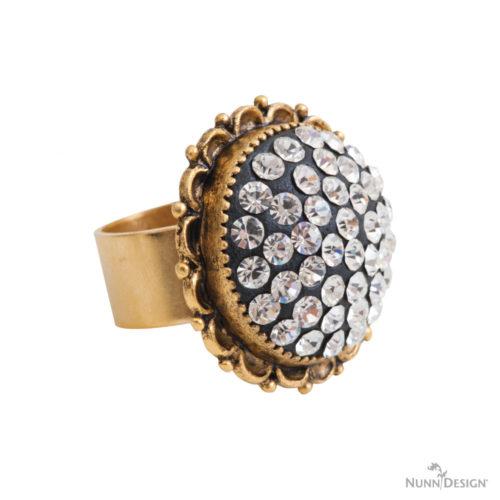 Kit Ornate Ring-Antique Gold 1