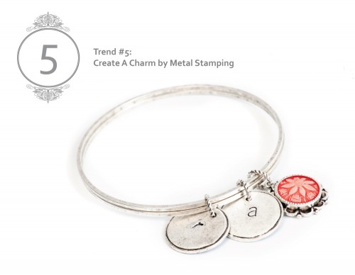 Trend5 Create Metal Stamp Charm
