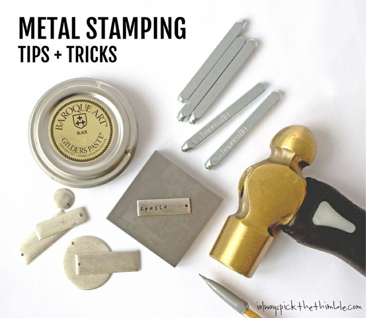 Want To Learn How To Metal Stamp This Post Is For You