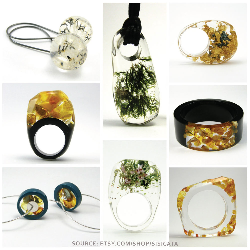Artisan Spotlight-Sisicata Resin Jewelry