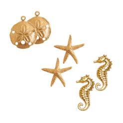 Buy & Try Findings Brass StampingsSea