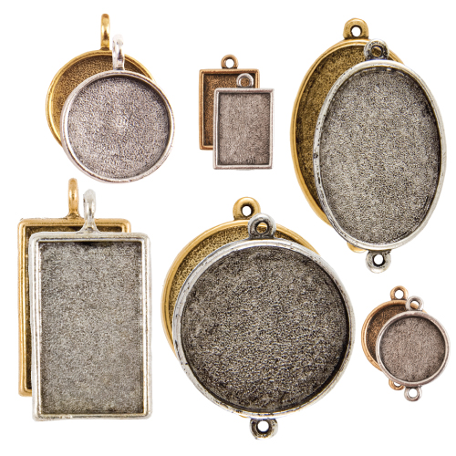 Buy & Try Sculpted Relief Findings Bezels-Combo 1