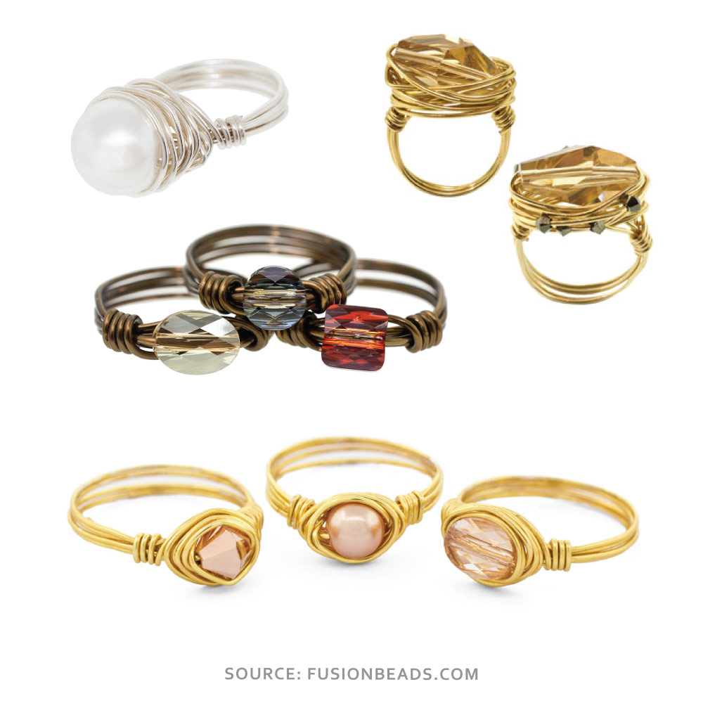 Free Wire Wrapping Ring Tutorials - Nunn Design