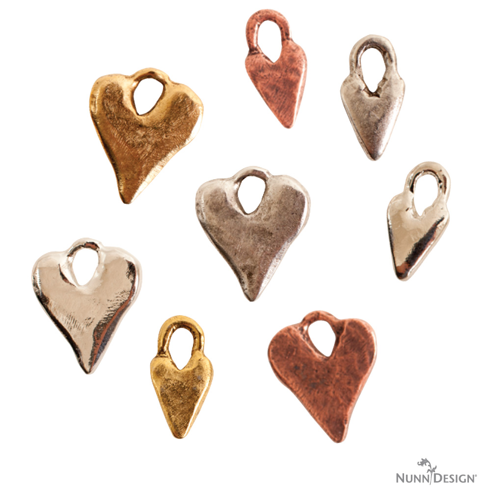 New nunn design charms and their symbolism nunn design heart charm symbolizes the power to bring things to life buycottarizona Image collections