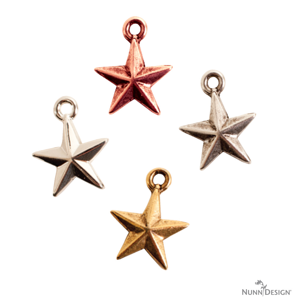 New nunn design charms and their symbolism nunn design this particular star charm is a nautical star stars have been thought of as a good luck symbols for centuries sailors sometimes decorated themselves with buycottarizona Images