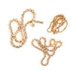 Buy & Try Fun Extras Keepsake-Rhinestone Chain Antique Gold 1