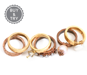 buytry-bucket-hammered-rings