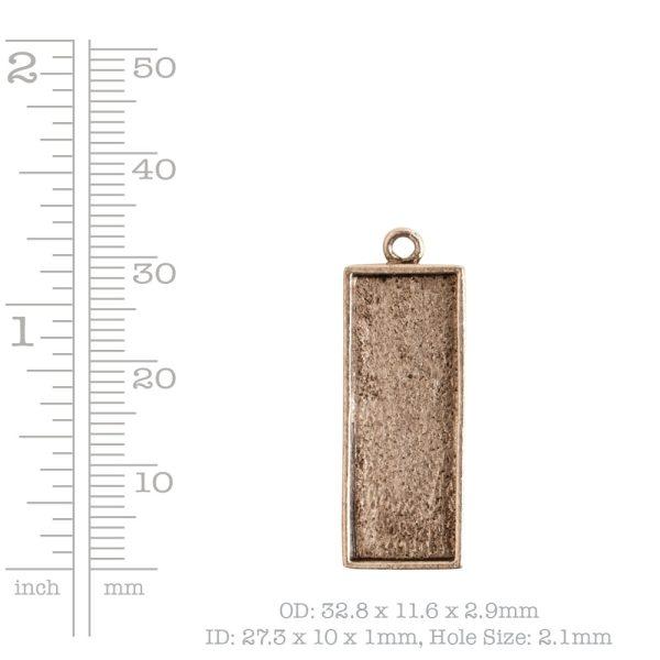 Mini Link Single Long Rectangle