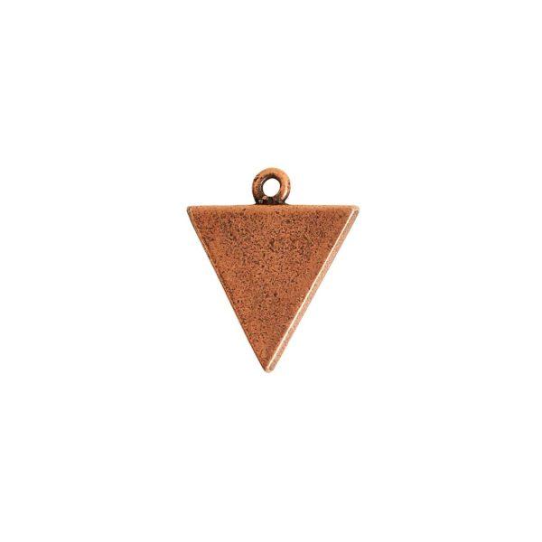 Mini Link Single Triangle Antique Copper