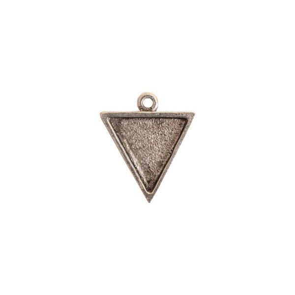 Mini Link Single Triangle Antique Silver