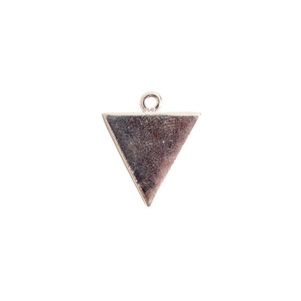 Mini Link Single Triangle Sterling Silver Plate
