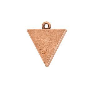 Small Pendant TriangleAntique Copper