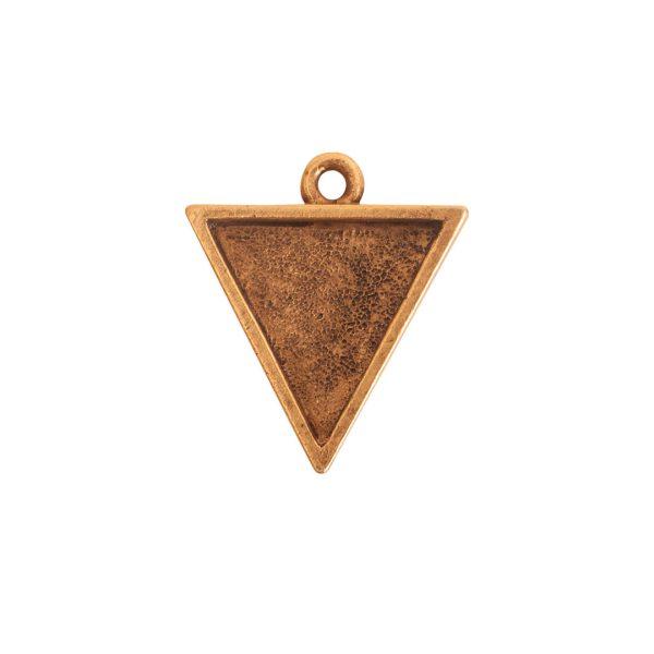 Small Pendant TriangleAntique Gold
