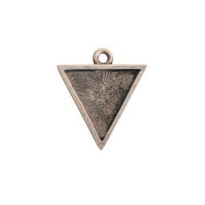 Small Pendant TriangleAntique Silver
