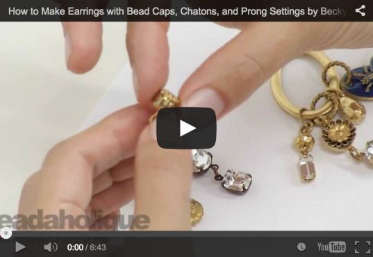 Prong Settings Make Fast Beautiful Affordable Jewelry!