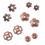 Buy & Try Findings Beadcap Combo PackAntique Copper 1
