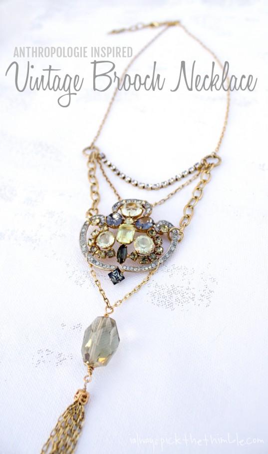 Kramer-of-New-York-Vintage-Brooch-Necklace-DIY