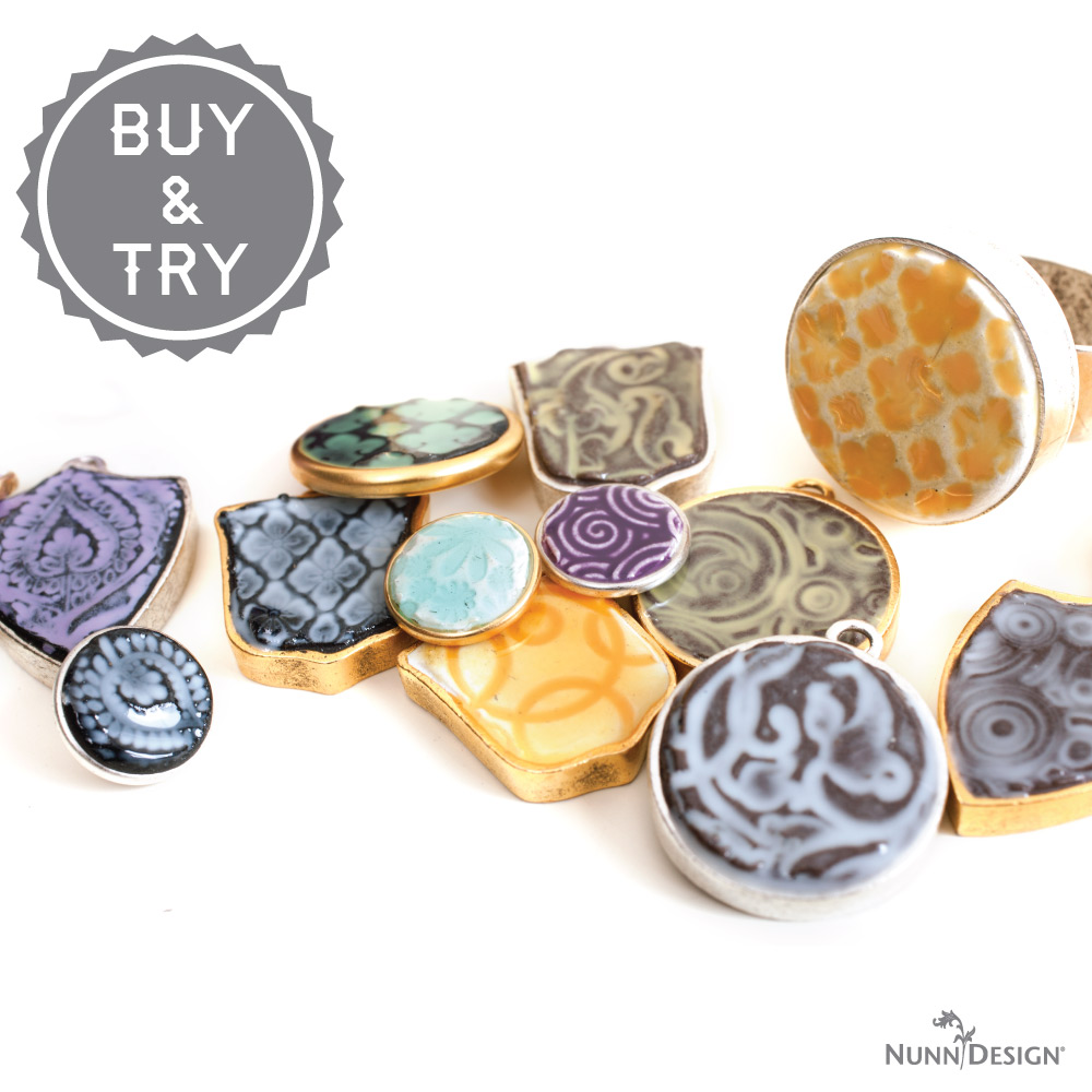Texturize & Colorize Epoxy Clay
