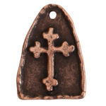 Charm Cross ArchAntique Copper