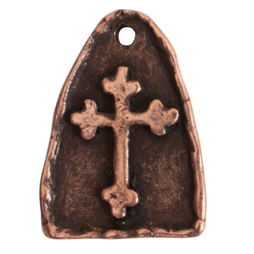 Charm Cross ArchAntique Copper
