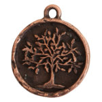 Charm Tree of LifeAntique Copper