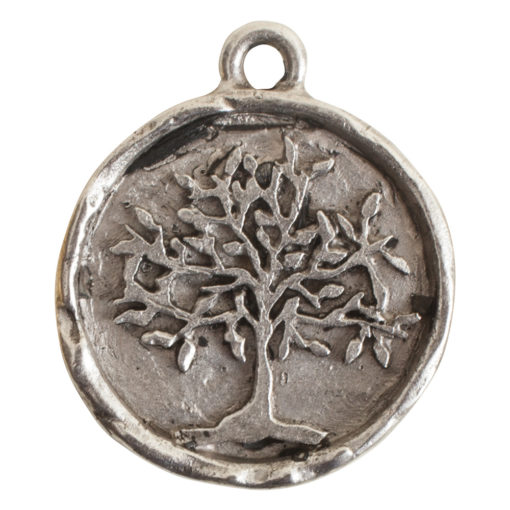 Charm Tree of LifeAntique Silver