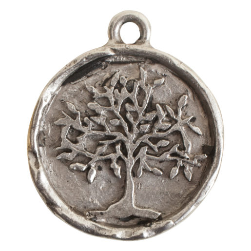 Charm Tree of Life<br>Antique Silver 1
