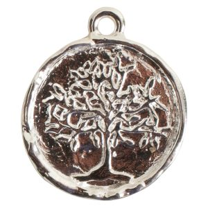 Charm Tree of LifeSterling Silver Plate