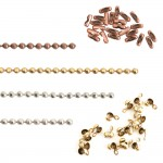 Faceted Bead Chain by the Spool
